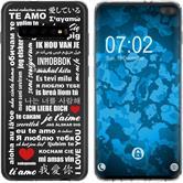 Samsung Galaxy S10 Plus Silikon-Hülle in Love  M5