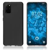 Silicone Case Galaxy S20+ matt black Cover
