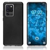 Silicone Case Galaxy S20 Ultra matt black Cover