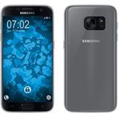 Silikon Hülle Galaxy C7 Pro transparent Crystal Clear