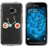 Samsung Galaxy Xcover 4 Silikon-Hülle Bike  M3
