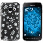 Samsung Galaxy Xcover 4 Silicone Case Christmas X Mas M2