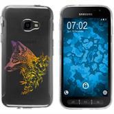 Samsung Galaxy Xcover 4 Silicone Case floralFox M1-3