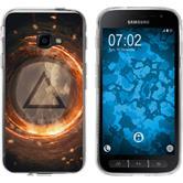 Samsung Galaxy Xcover 4 Silikon-Hülle Element  M3