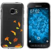 Samsung Galaxy Xcover 4 Silicone Case autumn M1