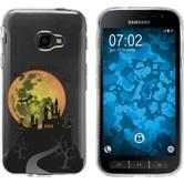 Samsung Galaxy Xcover 4 Silikon-Hülle Herbst  M4