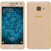 Silicone Case for Samsung Galaxy A5 (A500) 360° Fullbody gold