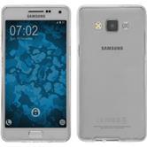 Silikon Hülle Galaxy A5 (A500) 360° Fullbody grau Case