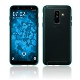 Silicone Case Galaxy A6 Plus (2018) transparent turquoise Case