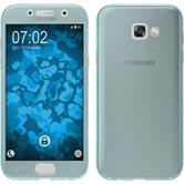 Silicone Case Galaxy A7 (2017) 360° Fullbody light blue