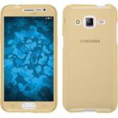 Silicone Case for Samsung Galaxy J2 360° Fullbody gold