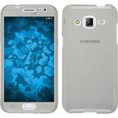 Silicone Case for Samsung Galaxy J2 360° Fullbody gray