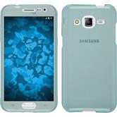 Silicone Case for Samsung Galaxy J2 360° Fullbody light blue