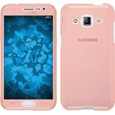 Silicone Case for Samsung Galaxy J2 360° Fullbody pink