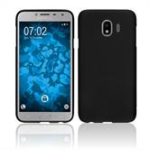 Silicone Case Galaxy J4 matt black Cover
