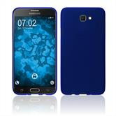 Silikon Hülle Galaxy J7 Prime 2 matt blau Case