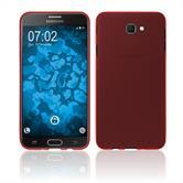 Silikon Hülle Galaxy J7 Prime 2 matt rot Case