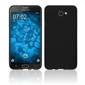 Silikon Hülle Galaxy J7 Prime 2 matt schwarz Case