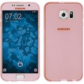 Silicone Case for Samsung Galaxy S6 360° Fullbody pink