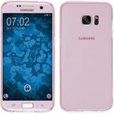 Silicone Case for Samsung Galaxy S7 Edge 360° Fullbody pink