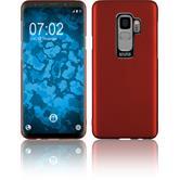 Hardcase Galaxy S9 Velvet red Case