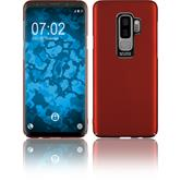 Hardcase Galaxy S9 Plus Velvet rot Case