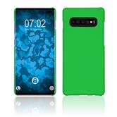 Hardcase Galaxy S10 Plus rubberized green Cover