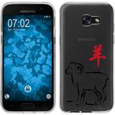Samsung Galaxy A7 (2017) Coque en Silicone Chinese Zodiac Motif 8
