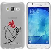 Samsung Galaxy J5 (J500) Coque en Silicone Chinese Zodiac Motif 10