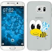 Samsung Galaxy S6 Edge Funda de silicona Cutiemals Motivo 1
