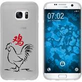 Samsung Galaxy S7 Edge Coque en Silicone Chinese Zodiac Motif 10