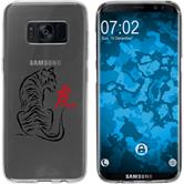 Samsung Galaxy S8 Plus Silicone Case vector animals M3
