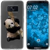 Samsung Galaxy S8 Plus Silicone Case vector animals M4