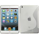 Silicone Case for Apple iPad Mini 3 2 1 S-Style transparent