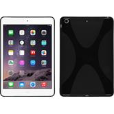 Silicone Case for Apple iPad Mini 3 2 1 X-Style black