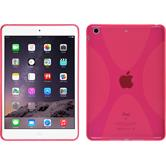 Silicone Case for Apple iPad Mini 3 2 1 X-Style hot pink