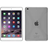 Silicone Case for Apple iPad Mini 3 2 1 X-Style transparent
