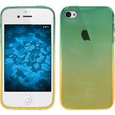 Silicone Case for Apple iPhone 4S Ombrè Design:03