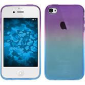 Silicone Case for Apple iPhone 4S Ombrè Design:04