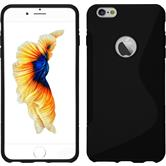 Silicone Case for Apple iPhone 6s Plus / 6 Plus S-Style black