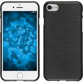 Silicone Case for Apple iPhone 7 brushed silver