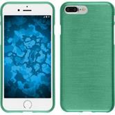 Silicone Case for Apple iPhone 7 Plus brushed green