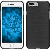 Silicone Case for Apple iPhone 7 Plus brushed silver