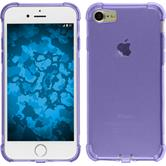 Silicone Case for Apple iPhone 7 Plus Shock-Proof purple