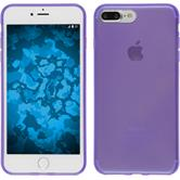 Silicone Case for Apple iPhone 7 Plus transparent purple
