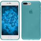 Silicone Case for Apple iPhone 7 Plus transparent turquoise
