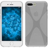 Silicone Case for Apple iPhone 7 Plus X-Style transparent