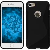 Silicone Case for Apple iPhone 7 S-Style black