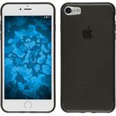 Silicone Case for Apple iPhone 7 transparent black