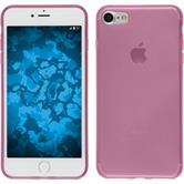 Silicone Case for Apple iPhone 7 transparent pink